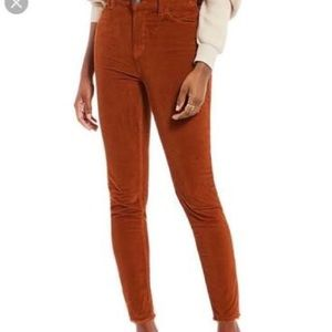 We The Free High Rise Skinny Ankle Corduroy Pant
